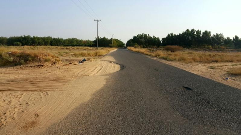 طريق الخشابية سلامةالدراج3