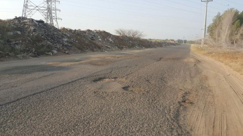طريق الخشابية سلامةالدراج7