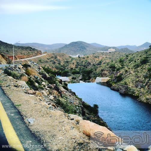 طريق الرابط بين قرى ضبوعي وقرى باحة ربيعة وقرى طبب بمنطقة عسير