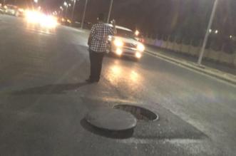 رغم افتتاح طريق الصناعية بالطائف من أيام.. كوارث منتظرة بسبب حفر مرتفعة! - المواطن