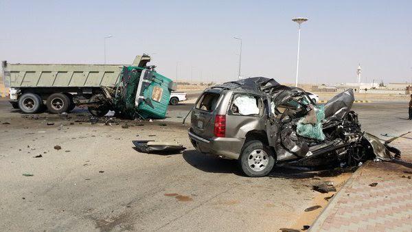 طريق الموت (بيشة- الرين- الرياض)3
