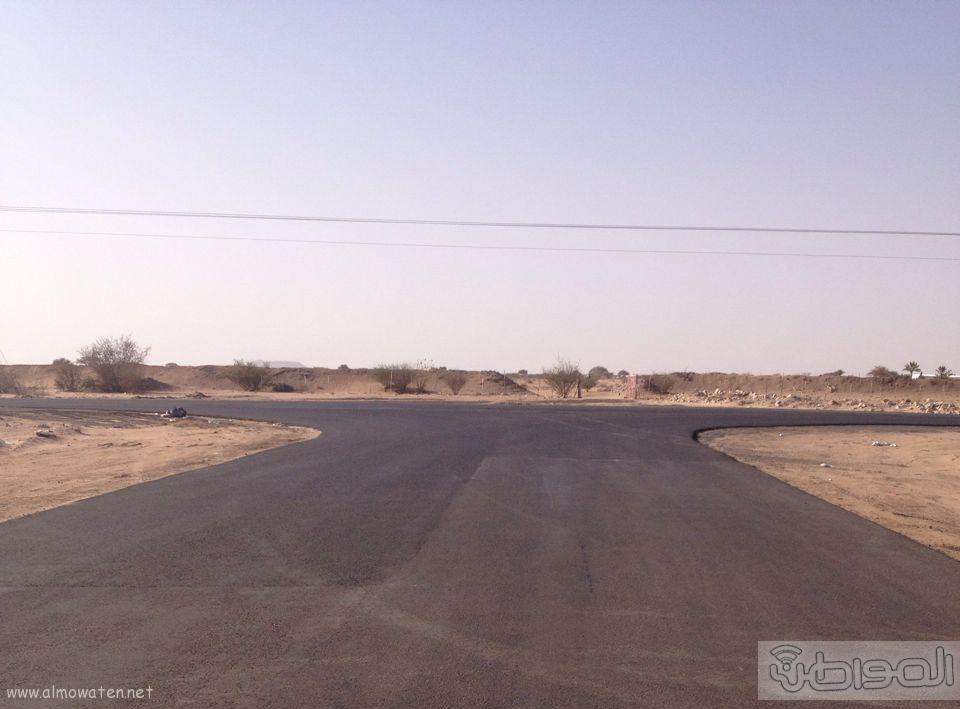 طريق زبيده ووادي مرفوع بالطائف عيوب هندسية (1)