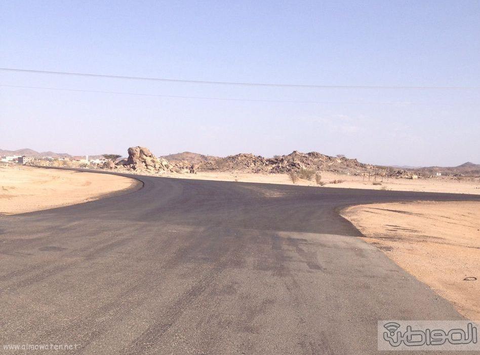 طريق زبيده ووادي مرفوع بالطائف عيوب هندسية (5)