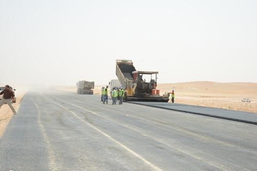 طريق جديد الرياض