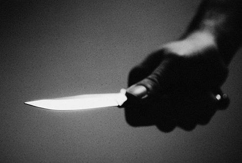 طعن - سكين