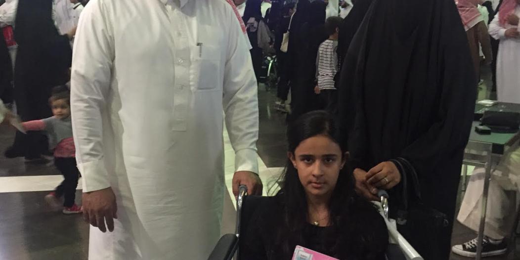 طفلة الـ 9 أعوام تقهر المرض وتُوقع كتابها في معرض الرياض