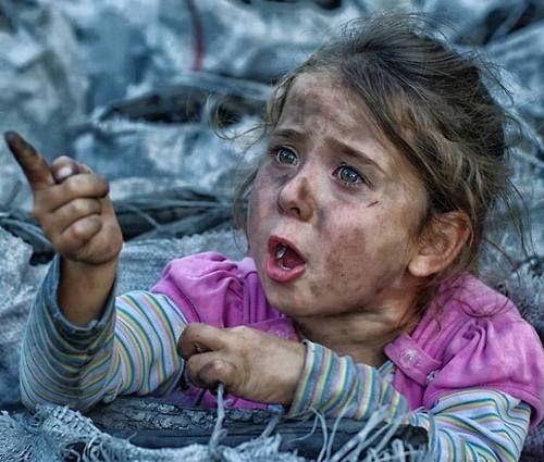 طفلة سوريا