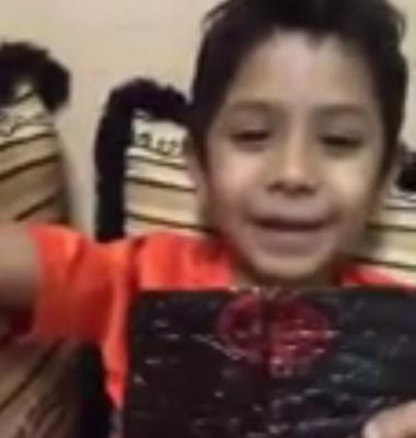 طفل عمره 10 سنوات يحمل مخدرات