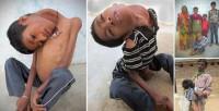 طفل-هندي-يعيش-براس-مقلوب