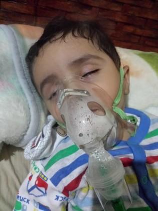 """مرابط على الحد الجنوبي يناشد علاج طفله """"محمد"""" بالخارج"""