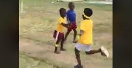 شاهد.. أغرب رد فعل لطفل في سباق للجري! - المواطن