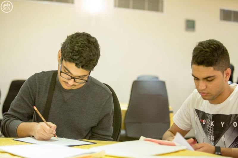 طلاب السعودية