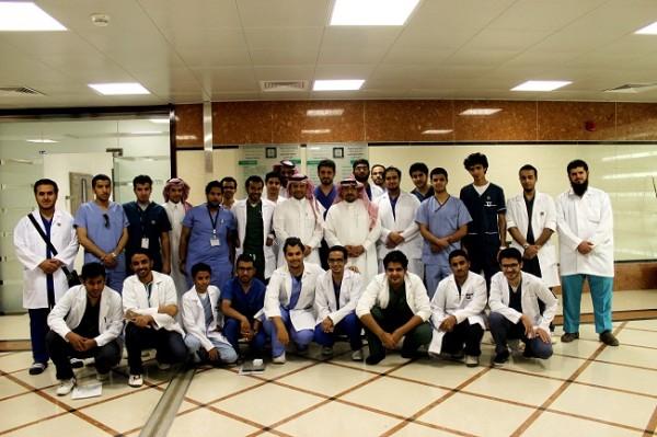 طلاب الطب في الحج