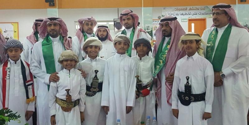 طلاب يمنيون العارضة السعودية (3)