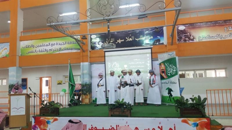 طلاب يمنيون العارضة السعودية (7)