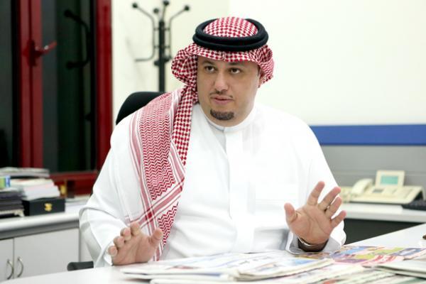 """رئيس تحرير صحيفة """" الوطن """" الزميل طلال آل الشيخ"""