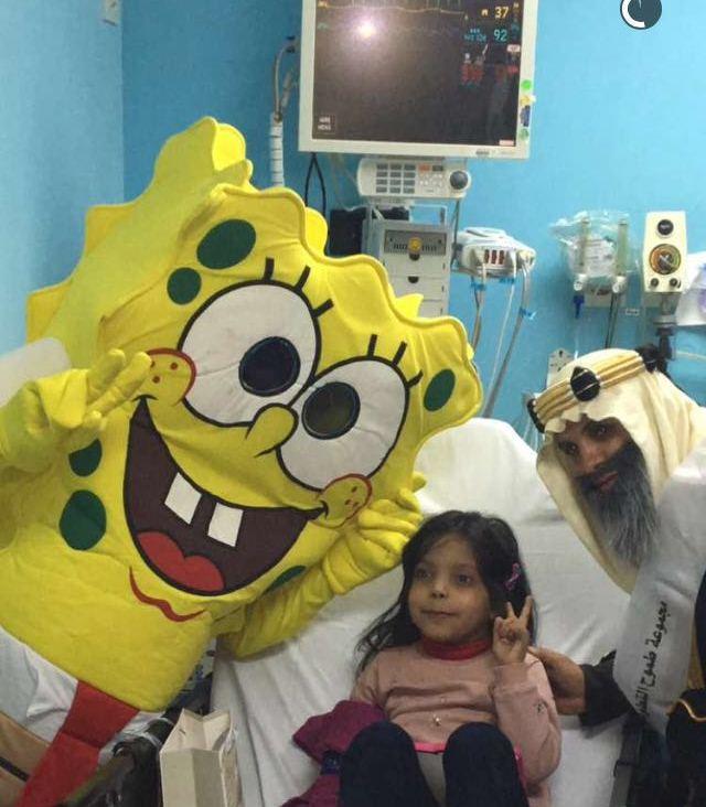 طموح التطوعية تزور مرضى السرطان بمدينة الملك فهد الطبية (5)