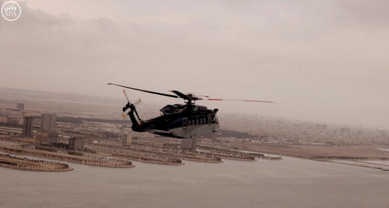 طيران الأمن ينظم جولة تفقدية على بعض مدن الشرقية بعد هطول الأمطار على المنطقة2