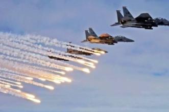 طيران التحالف يدك تعزيزات حوثية في مأرب - المواطن