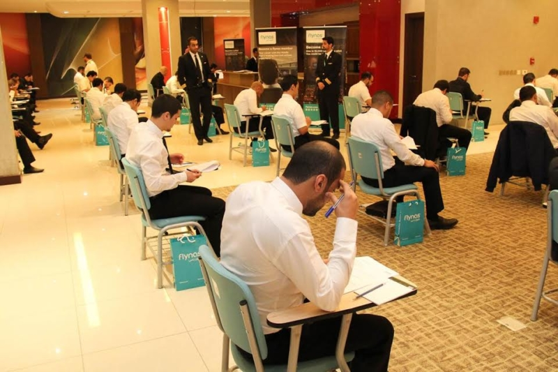 طيران ناس يعقد اختبارات القبول لـ78 مرشحا في برنامج