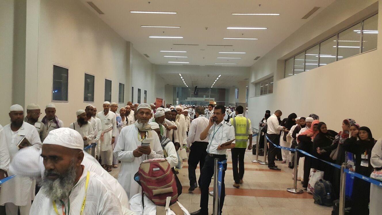 عبر 100 موظف و13 طائرة.. #طيران_ناس تسخر طاقاتها لتوديع الحجاج - المواطن