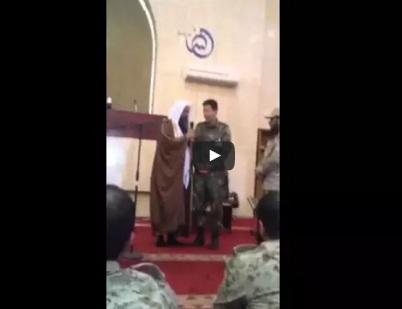 ظابط - كوري - الاسلام