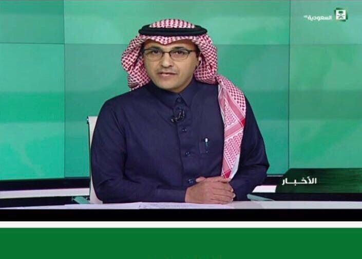 لأول مرة على القناة السعودية.. عادل أبو حيمد في نشرة الأخبار
