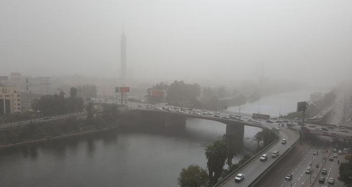 عاصفة تضرب مصر2