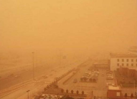 عاصفة شديدة مصر