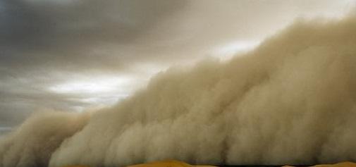 عاصفة-غبار-مظلمه