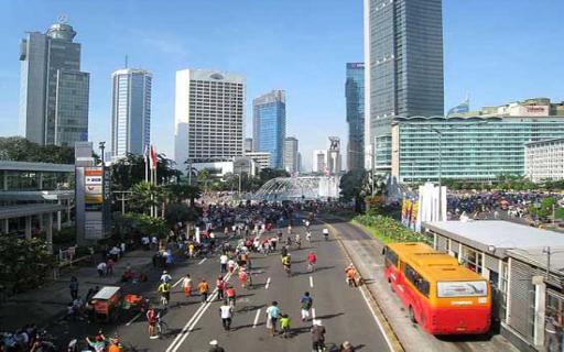 عاصمة اندوسيا جاكرتا