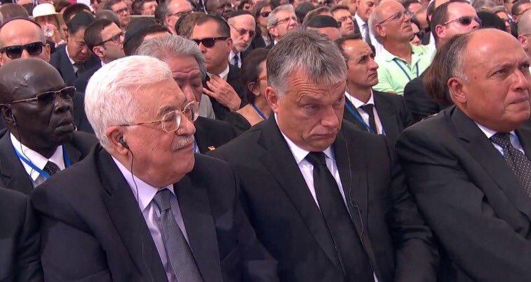 مراسم جنازة بيريز