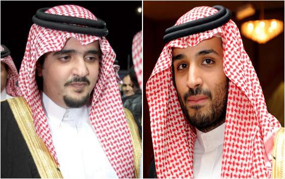 عبدالعزيز بن فهد ومحمد بن سلمان 11