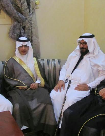 عبدالله الشهري يحتفي بعقد قرانه