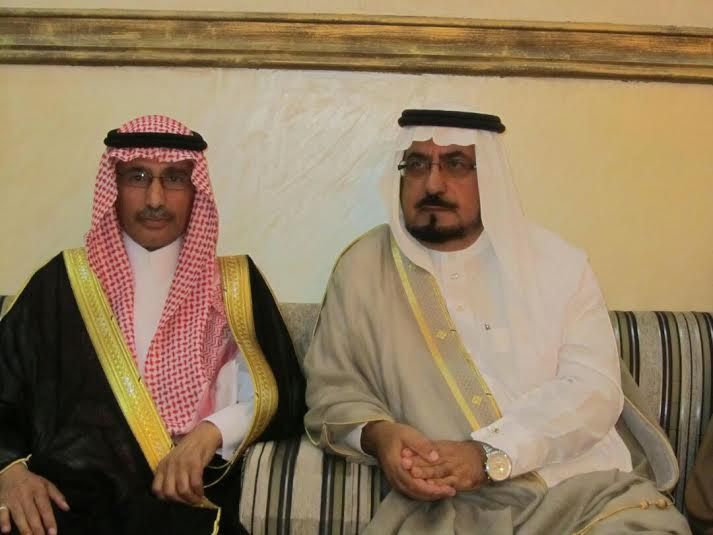 عبدالله الشهري يحتفي بعقد قرانه1