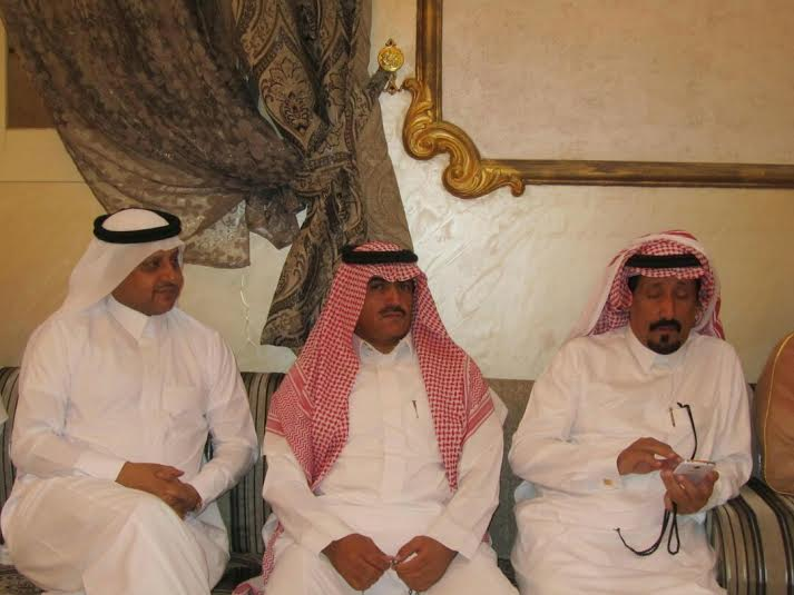 عبدالله الشهري يحتفي بعقد قرانه6