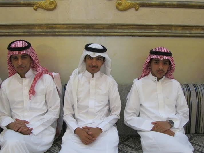 عبدالله الشهري يحتفي بعقد قرانه7