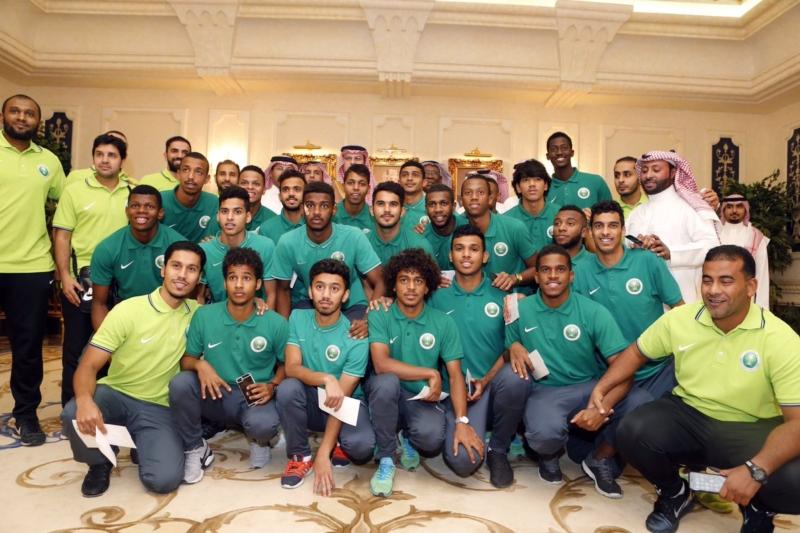 عبدالله بن مساعد والمنتخب السعودي للشباب 1