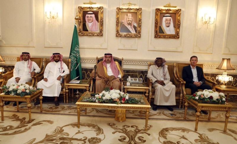 عبدالله بن مساعد والمنتخب السعودي للشباب 2