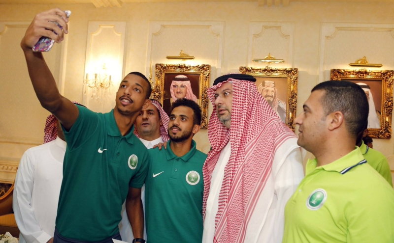 عبدالله بن مساعد والمنتخب السعودي للشباب 5