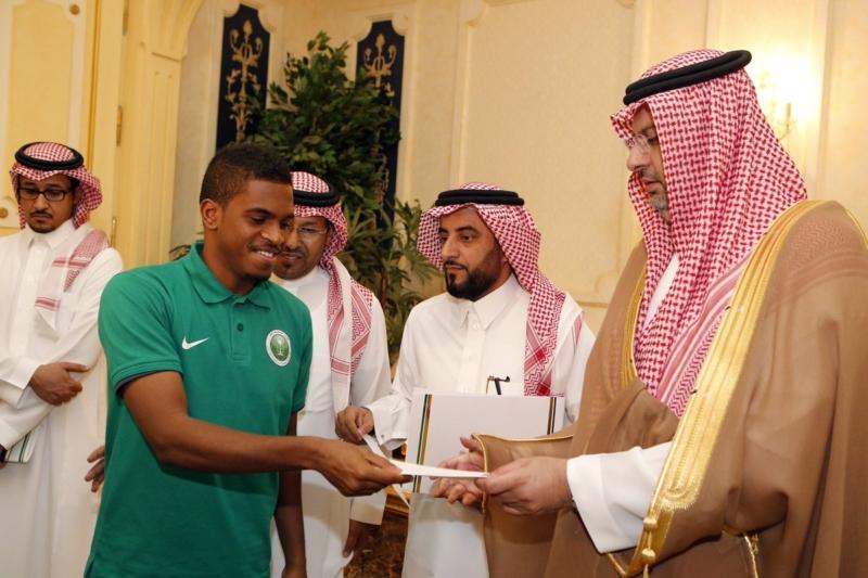 عبدالله بن مساعد والمنتخب السعودي للشباب 6