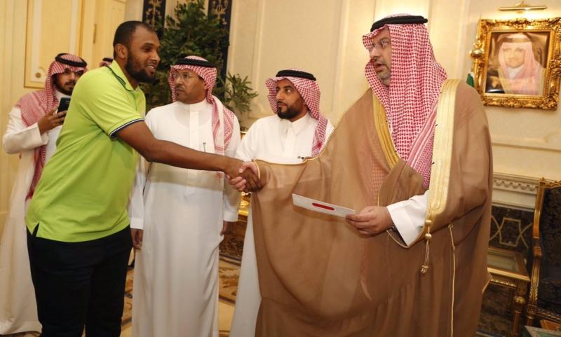 عبدالله بن مساعد والمنتخب السعودي للشباب 7