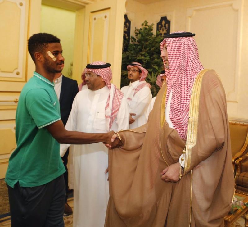 عبدالله بن مساعد والمنتخب السعودي للشباب