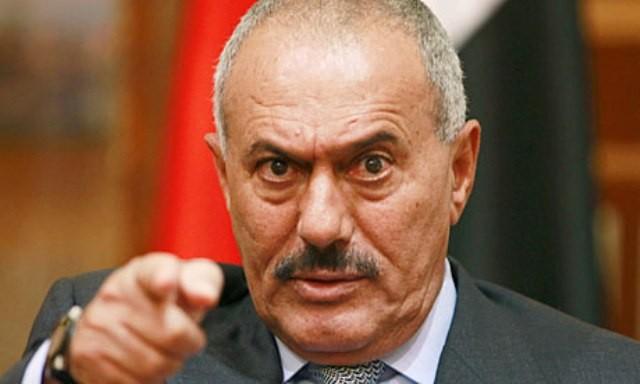 """مقطع مُسرَّب.. """"صالح"""" يوجه بتحطيم كل ما هو جميل باليمن! """