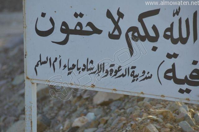 عدسة المواطن ترصد مقبرة بلا سور على طريق  جدة و مكة المكرمة (6)