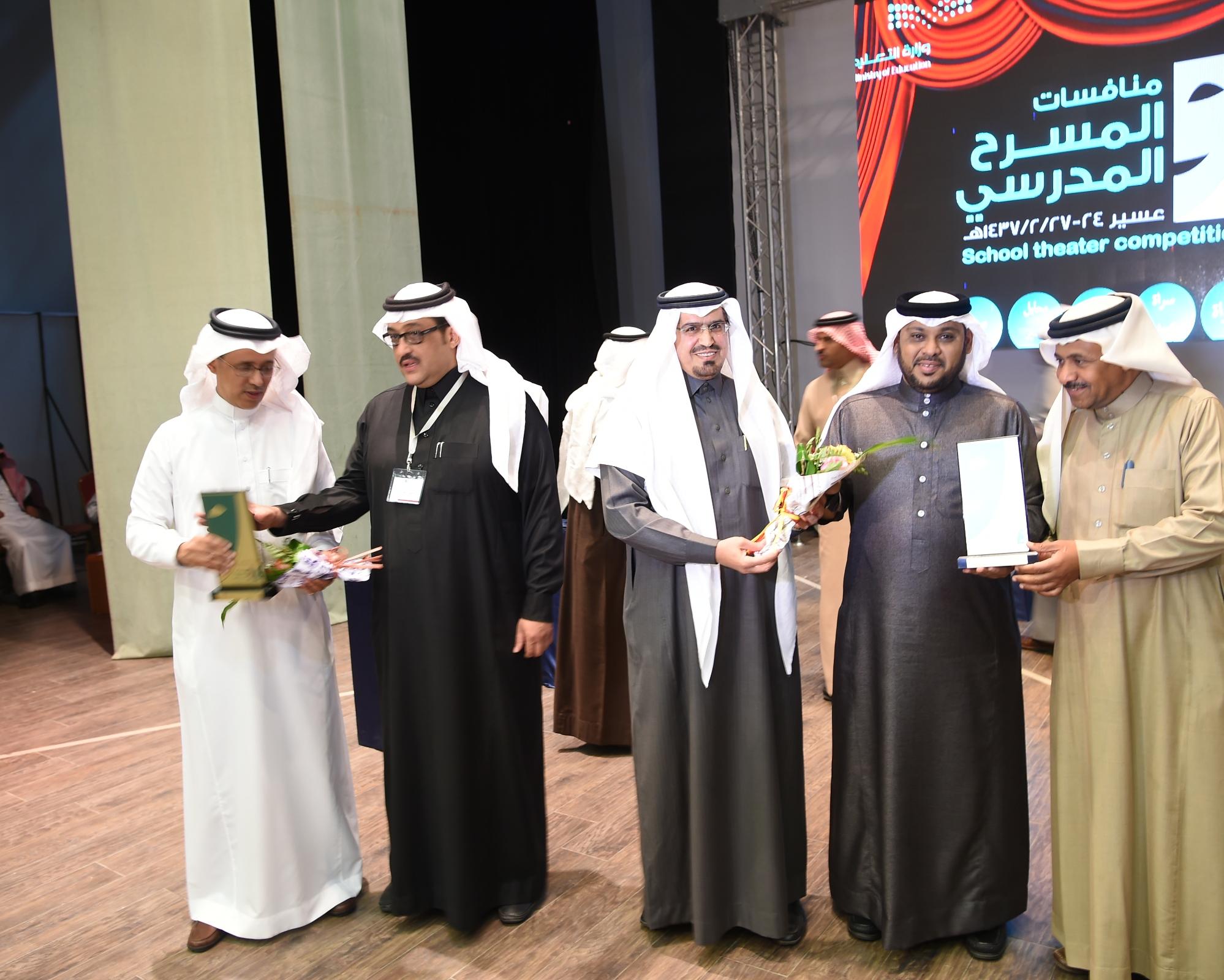 عروض مسرحية في انطلاق مهرجان المسرح المدرسي بعسير (7)