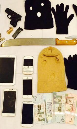 عصابة مكونة من15 شخص تورطوا بارتكاب85 جريمة سرقة وسلب (1)