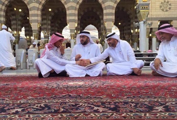 عقد قران لاعب النصر خالد الغامدي (1)