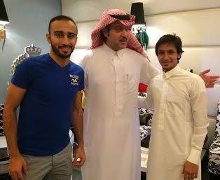 عقد قران لاعب النصر خالد الغامدي (2)