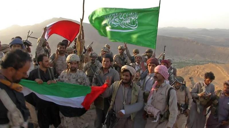 علم-السعودية-على-سد-مأرب (2)